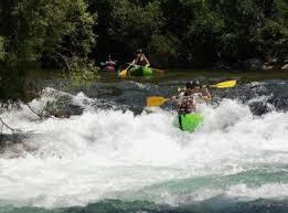 Canoe dans l'Hérault
